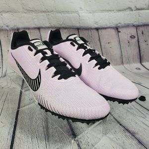 Nike Pink Zoom Rival Racing Track Spikes Shoes